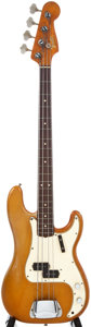 Musical Instruments:Acoustic Guitars, 1965 Fender Bass Shoreline Gold Electric Bass Guitar, #110296....