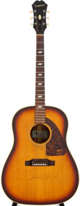 Musical Instruments:Acoustic Guitars, 1967 Epiphone Texan Sunburst Acoustic Guitar #096078...