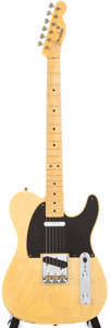 Musical Instruments:Electric Guitars, Modern Fender Custom Shop Nocaster Blonde Solid Body Electric Guitar, #R8794....