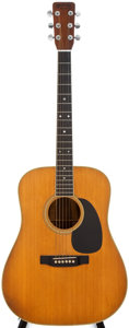 Musical Instruments:Acoustic Guitars, 1967 Martin D-35 Natural Acoustic Guitar, #222670....