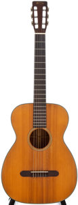 Musical Instruments:Acoustic Guitars, 1961 Martin 00-18G Natural Classical Guitar, #180416....