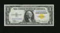 Small Size:World War II Emergency Notes, Fr. 2306 $1 1935A North Africa Silver Certificate. Gem Crisp Uncirculated.. A wonderfully margined North Africa ace with goo...