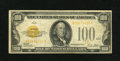 Small Size:Gold Certificates, Fr. 2405 $100 1928 Gold Certificate. Fine.. Even circulation if noted on this colorful higher denomination gold note....