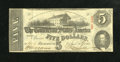 Confederate Notes:1863 Issues, T60 $5 1863.. . ...
