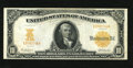 Large Size:Gold Certificates, Fr. 1171 $10 1907 Gold Certificate Very Fine-Extremely Fine. This piece faces up like the best EF's though has a few too man...