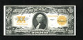Large Size:Gold Certificates, Fr. 1187 $20 1922 Gold Certificate Very Fine. This piece is exceptionally bright but still has a few too many folds for a fu...