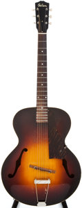 Musical Instruments:Electric Guitars, 1949 Gibson L-48 Sunburst Archtop Acoustic Guitar, #2292G....