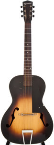 Musical Instruments:Acoustic Guitars, 1940s Kalamazoo Sunburst Archtop Acoustic Guitar, #NA....