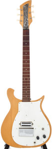 Musical Instruments:Acoustic Guitars, 1959 Rickenbacker Combo 425 Natural Wood Solid Body ElectricGuitar, #4C933....