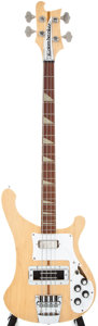 Musical Instruments:Acoustic Guitars, 1975 Rickenbacker 4001 Mapleglo Electric Bass Guitar, #BOG....