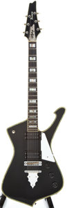 Musical Instruments:Electric Guitars, 1979 Ibanez Paul Stanley Black Solid Body Electric Guitar,#H794935....