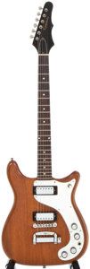 Musical Instruments:Electric Guitars, 1965 Epiphone Wilshire Natural Electric Guitar, #xxx284. ...