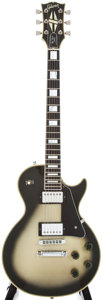 Musical Instruments:Electric Guitars, 1984 Gibson Les Paul Custom Silverburst Electric Guitar,#80824522....
