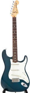 Musical Instruments:Electric Guitars, 1982 Fender Stratocaster Blue Electric Guitar, #E202106....