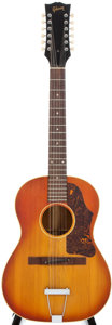 Musical Instruments:Acoustic Guitars, 1967 Gibson B-25-12 Sunburst Acoustic Guitar, #875813....