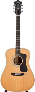 Musical Instruments:Acoustic Guitars, 1974 Guild D-50 Natural Acoustic Guitar, #112383....