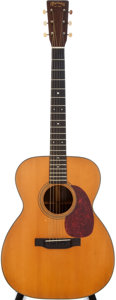Musical Instruments:Acoustic Guitars, 1944 Martin 000-21 Natural Acoustic Guitars, #89530....