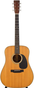Musical Instruments:Acoustic Guitars, 1945 Martin D-28 Natural Acoustic Guitar, #90614....