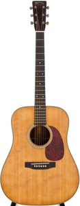 Musical Instruments:Acoustic Guitars, 1941 Martin D-28 Natural Acoustic Guitar, #79590....
