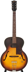 Musical Instruments:Acoustic Guitars, 1957 Gibson ES-125T Sunburst Electric Semi-Hollow Body Guitar,#U3667....