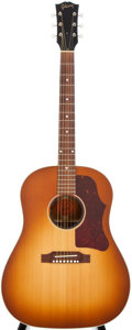Musical Instruments:Acoustic Guitars, 2008 Gibson J-45 Sunburst Acoustic Guitar, #02698007....
