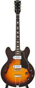 Musical Instruments:Electric Guitars, 1967 Gibson ES330 Sunburst Semi-Hollow Body Electric Guitar#098758...