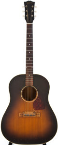 Musical Instruments:Acoustic Guitars, 1950 Gibson J-45 Sunburst Acoustic Guitar, #5244 30....