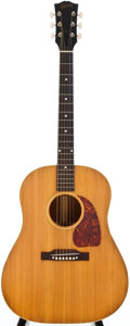 Musical Instruments:Acoustic Guitars, 1951 Gibson J-50 Natural Acoustic Guitar, #91419....