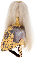 Military & Patriotic:Foreign Wars, Victorian British Army Officer's 1847 pattern Parade Helmet from the Life Guards, Household Cavalry c. 1871....