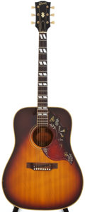 Musical Instruments:Acoustic Guitars, 1968 Gibson Hummingbird Sunburst Acoustic Guitar, #952958....