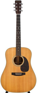 Musical Instruments:Acoustic Guitars, 1967 Martin D-28 Natural Acoustic Guitar, #219983....