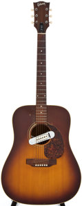 Musical Instruments:Acoustic Guitars, 1972 Gibson J45 Sunburst Acoustic Guitar, #952813....