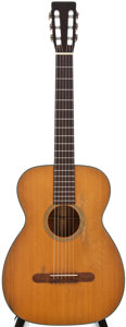 Musical Instruments:Acoustic Guitars, 1953 Martin 00-18G Natural Acoustic Guitar, #135406....