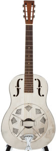 Musical Instruments:Acoustic Guitars, 1933 National Style O Chrome Resonator Guitar, #C6260....