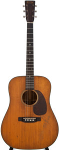 Musical Instruments:Acoustic Guitars, 1946 Martin D-18 Natural Acoustic Guitar, #96029....
