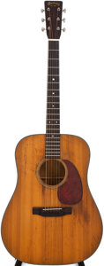 Musical Instruments:Acoustic Guitars, 1948 Martin D-18 Natural Acoustic Guitar #107710...