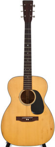 Musical Instruments:Acoustic Guitars, 1943 Martin 00-18 Natural Acoustic Guitar, #85751....