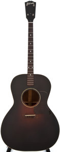Musical Instruments:Acoustic Guitars, 1930 Gibson TG-00 Sunburst Acoustic Guitar, #656....