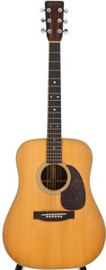 Musical Instruments:Acoustic Guitars, 1964 Martin D-28 Natural Acoustic Guitar, #194267....