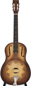Musical Instruments:Resonator Guitars, 1929 National Triolian Polychrome Resonator Guitar, #1142....