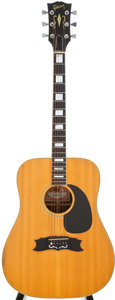 Musical Instruments:Acoustic Guitars, 1978 Gibson Heritage Custom Natural Acoustic Guitar, #70608030....