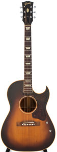 Musical Instruments:Acoustic Guitars, 1954 Gibson CF100-E Sunburst Acoustic Guitar, #X8489....