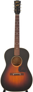Musical Instruments:Acoustic Guitars, 1944 Gibson LG-2 Banner Sunburst Acoustic Guitar, #389?....