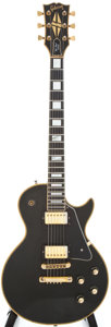 Musical Instruments:Electric Guitars, 1976 Gibson Les Paul Custom Black Electric Guitar, #119519....