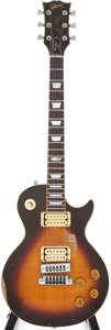 Musical Instruments:Electric Guitars, 1979 Gibson Les Paul KM Tobacco Sunburst Electric Guitar, #72419105....