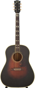 Musical Instruments:Acoustic Guitars, 1954 Gibson Southern Jumbo Sunburst Acoustic Guitar, #X847220....