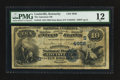 National Bank Notes:Kentucky, Louisville, KY - $10 1882 Date Back Fr. 542 The American NB Ch. #(S)4956. ...