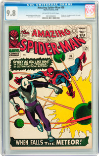 The Amazing Spider-Man #36 (Marvel, 1966) CGC NM/MT 9.8 Off-white to white pages