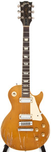 Musical Instruments:Electric Guitars, 1975 Gibson Les Paul Deluxe Goldtop Solid Body Electric Guitar, #99122669....