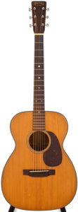 Musical Instruments:Acoustic Guitars, 1949 Martin 00-18 Natural Acoustic Guitar, #112486....